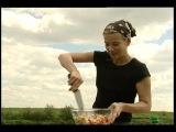 Едим дома с Юлией Высоцкой. Семга на гриле фаршированная рисом.